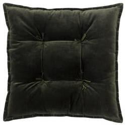 Company C Talia Velvet Pillow 10736 Loden