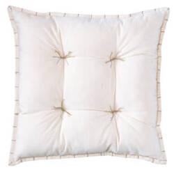Company C Talia Velvet Pillow 10736 Oyster