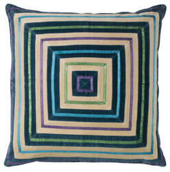 Company C Zoe Pillow 10737 Teal