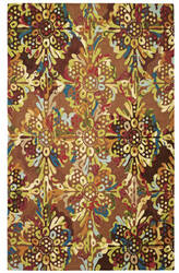 Company C Drip And Splash 19408 Toffee Area Rug