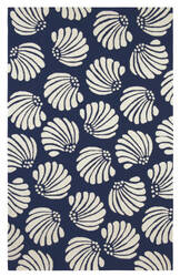 Company C Coquille 10299 Navy Area Rug
