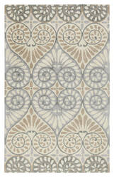 Company C Dew Drop 10292 Pewter Area Rug