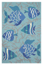 Company C Go Fish 10300 Lake Area Rug