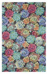 Company C Succulents 10298 Multi Area Rug