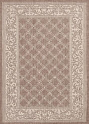 Couristan Recife Garden Lattice Cocoa - Natural Area Rug