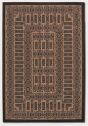 Couristan Recife Tamworth Cocoa - Black Area Rug