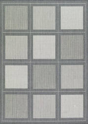 Couristan Recife Summit Grey - White Area Rug