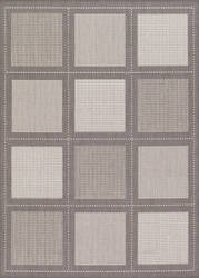 Couristan Recife Summit Grey - White Area Rug