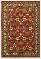 Couristan Lahore Antique Kazak Reddish Clay Area Rug