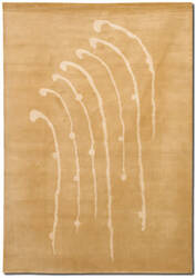 Couristan Rythmia Transcendence Golden Wheatfield Area Rug