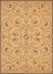Couristan Recife Veranda Natural - Cocoa Area Rug