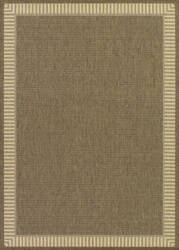 Couristan Recife Wicker Stitch Cocoa - Natural Area Rug