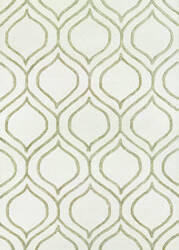 Couristan Super Indo Natural Alba Ivory - Grey Area Rug