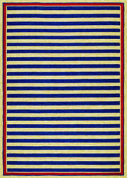 Couristan Covington Nautical Stripes Navy - Red Area Rug