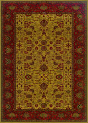 Couristan Everest Tabriz Harvest Gold Area Rug