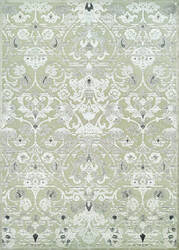 Couristan Cire Aurora Regal Mushroom - Antique Cream Area Rug