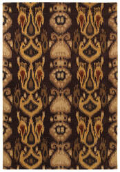 Couristan Sierra Vista Hayden Burgundy - Gold Area Rug