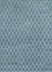 Couristan Retrograde Lightyear Grey - Dusty Blue Area Rug