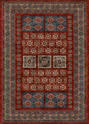 Couristan Timeless Treasures Royal Kazak Burgundy Area Rug