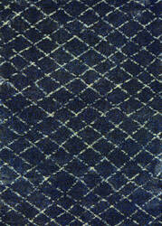 Couristan Bromley Gio Navy - Grey Area Rug