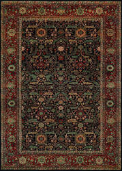 Couristan Old World Classics Joshagan Navy - Rust Area Rug