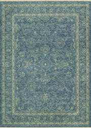Couristan Elegance Aurelia Dusty Blue - Beige Area Rug