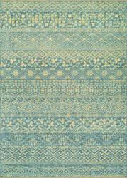Couristan Elegance Ophelia Azure - Tan Area Rug
