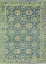 Couristan Tenali Hapur Steel Blue Area Rug