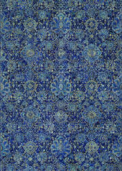 Couristan Easton Winslet Navy - Sapphire Area Rug