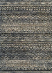 Couristan Easton Capella Black - Grey Area Rug