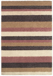 Couristan Moonwalk Celestial Stripe Cream - Cameo Rose Area Rug