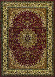 Couristan Izmir Royal Kashan Red Area Rug