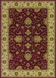Couristan Izmir Floral Bijar Red Area Rug