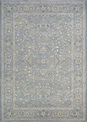 Couristan Sultan Treasures Floral Yazd Slate Blue Area Rug