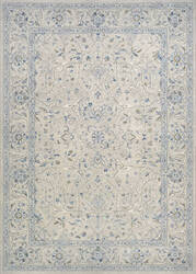 Couristan Sultan Treasures Floral Yazd Grey Area Rug