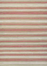 Couristan Nature's Elements Awning Stripes Straw - Red - White Area Rug