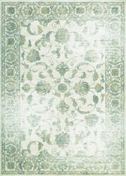 Couristan Provincia Botanic Applique Cream - Beige Area Rug