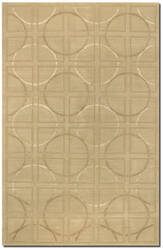 Couristan Impressions Telescope Beige - Ivory Area Rug