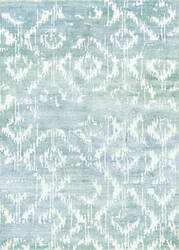Couristan Sagano Bauble Dusty Blue - Ivory Area Rug