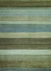 Couristan Pokhara Figaro Brown - Blue Area Rug