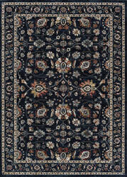 Couristan Monarch Kerman Vase Navy Area Rug