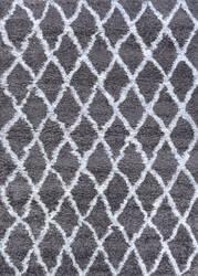 Couristan Urban Shag Temara Mink - White Area Rug