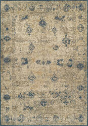 Dalyn Antiquity Aq1 Ivory-Teal Area Rug