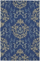 Dalyn Cabana Cn2 Navy Area Rug