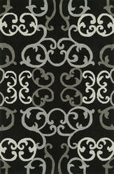 Dalyn Journey Jr24 Black Area Rug