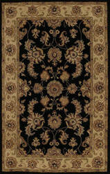Dalyn Jewel Jw1787 Black Area Rug