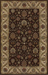 Dalyn Jewel Jw33 Chocolate / Ivory Area Rug