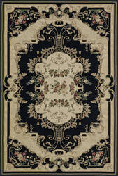 Dalyn Malta Mt4 Black Area Rug