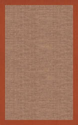 RugStudio Riley EB1 mocha 117 rust Area Rug