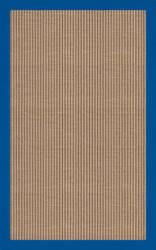 RugStudio Riley EB1 wheat 109 cobalt Area Rug